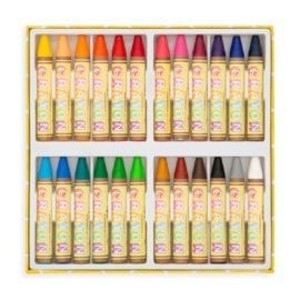 112411-4 OOLY Vaxkritor Brilliant Bee Crayons - Set om 24