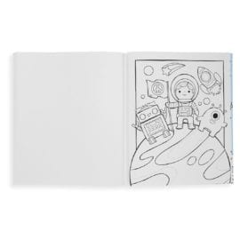 112416-2 OOLY Målarbok Outer Space Explorers Coloring Book