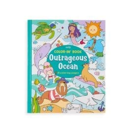 112417 OOLY Målarbok Outrageous Ocean Coloring Book