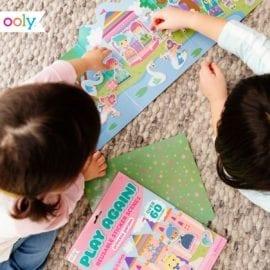 112418 OOLY Återanvändbara Klistermärken Reusable Sticker Scenes - Princess Garden