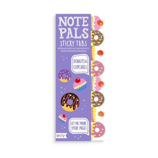 112421 OOLY Note Pals Sticky Tabs - Donuts & Cupcakes