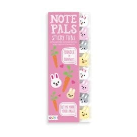 112422 OOLY Note Pals Sticky Tabs - Bundle of Bunnies