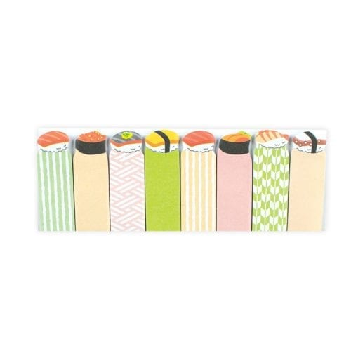 112423-1 OOLY Indexflikar Note Pals Sticky Tabs - Savory Sushi