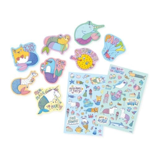 112429-1 OOLY Luktisar Mer-Made To Party Cupcake Scented Stickers