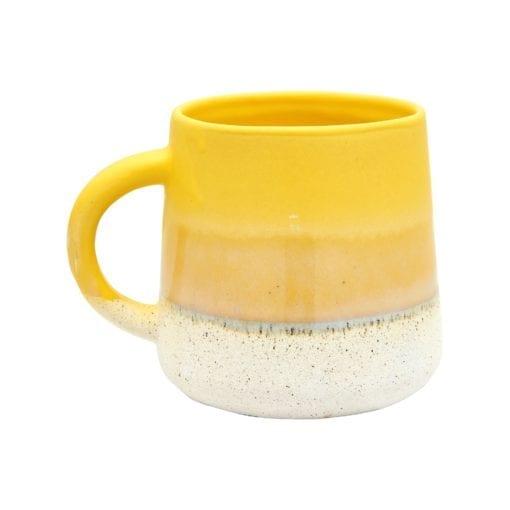112442 Sass & Belle Mugg Mojave Glaze Yellow Mug - Bohemian Home