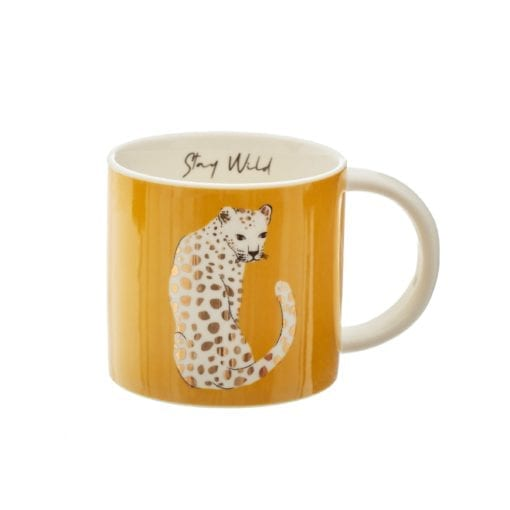 112454-1 Sass & Belle Mugg Leopard Love
