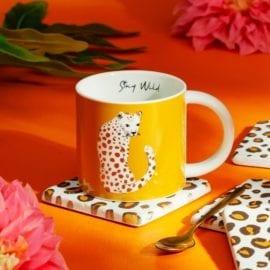 112454 Sass & Belle Mugg Leopard Love