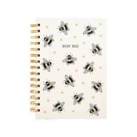 112460 Sass & Belle Anteckningsbok A5 Busy Bees