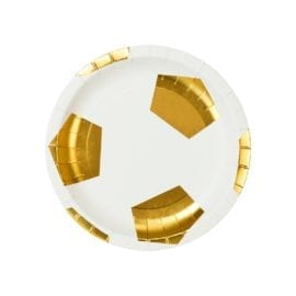 112467 Talking Tables Papperstallrikar Fotboll 18 cm 12 st - Party Champions