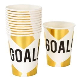 112468 Talking Tables Pappersmuggar Fotboll 12 st - Party Champions