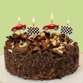 112477-2 Talking Tables Tårtljus Formel Ett 5 st - Party Racer