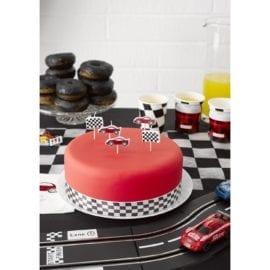112477-3 Talking Tables Tårtljus Formel Ett 5 st - Party Racer