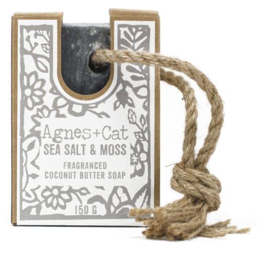 112487-2 Agnes+Cat Vegansk Reptvål Sea Salt And Moss