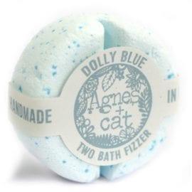 112492-9 Agnes+Cat Presentbox Veganska Bad Fizzers Sea Salt & Moss + Japanese Bloom + Dolly Blue