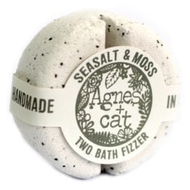 112493 Agnes+Cat Vegansk Bad Fizzer Sea Salt & Moss