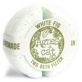 112496 Agnes+Cat Vegansk Bad Fizzer White Fig