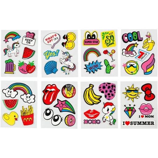 112510-1 Soft Stickers 8 Ark