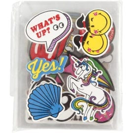 112510-2 Soft Stickers 8 Ark