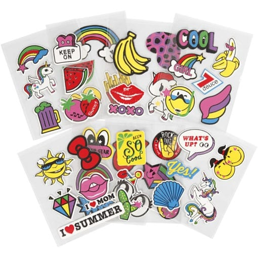 112510 Soft Stickers 8 Ark