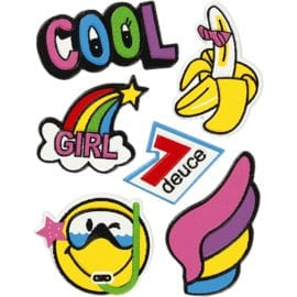 112514 Soft Stickers Cool Girl 1 Ark