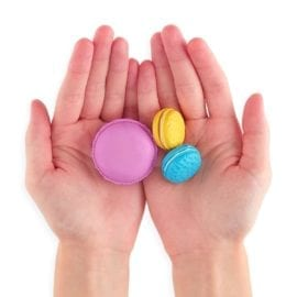 112538 OOLY Luktsudd Le Macaron Pâtisserie Scented Erasers - Set om 5