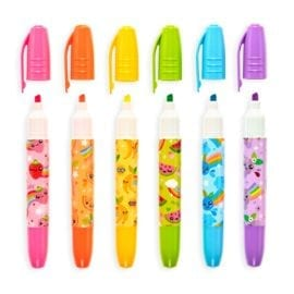 112540 OOLY Luktpennor Jumbo Juicy Scented Neon Highlighters