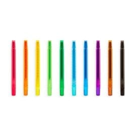 112541-3 OOLY Luktkritor Yummy Yummy Scented Twist-Up Crayons - Set om 10