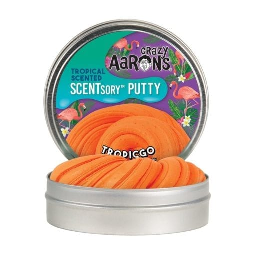 112576 Crazy Aarons SCENTsory Putty Mango with Hints of Vanilla