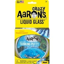 112577-1 Crazy Aarons Thinking Putty Liquid Glass Falling Water