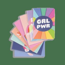 112579-1 OOLY Anteckningsbok Pocket Pal Journals Girl Power - Set om 8