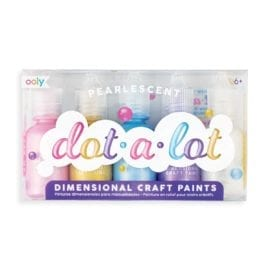 112583 OOLY Dot-A-Lot Craft Paint Pearlescent - Set om 5