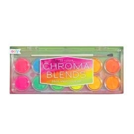 112587 OOLY Vattenfärg Chroma Blends Watercolor Paint Set - Neon