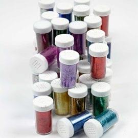 112591-2 Glitter Mixade färger 20 g