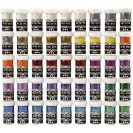 112591 Glitter Mixade färger 20 g