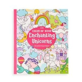 112612 OOLY Målarbok Enchanting Unicorns Coloring Book1