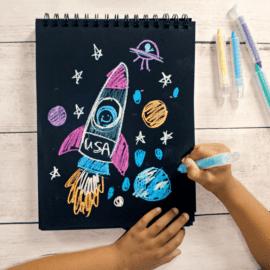 112624 OOLY Chalkpennor Chalk-O-Rama Dustless Chalk Crayons