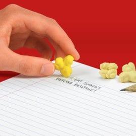 112633-1 Pennset Popcorn Grafitpennor Med Sudd Set om 12