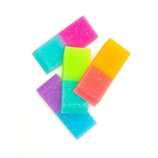 112637-7 OOLY Suddgummi Oh My Glitter Jumbo Erasers