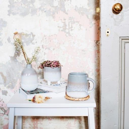 112639-2 Sass & Belle Mugg Grå Mojave Ombré-effekt - Bohemian Home