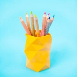112643-3 OOLY Färgpennor Jumbo Brights Neon Colored Chunky Pencils Set om 8