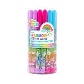 112645-1 OOLY Kulspetspenna Rainbow Glitter Wand Pen
