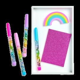 112645-14 OOLY Kulspetspenna Rainbow Glitter Wand Pen