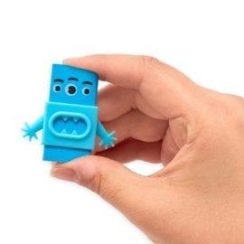 112653-3 OOLY Suddgummi Monster Erasers Set om 3