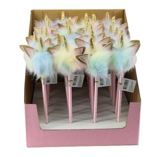 112667 Kulspetspenna Unicorn Bling Pom Pom1