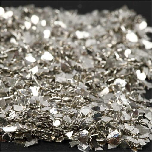 112683-2 Glitter Flakes Silver 1-3 mm 30 g