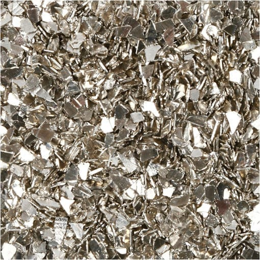 112683-4 Glitter Flakes Silver 1-3 mm 30 g