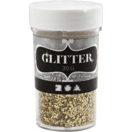 112684 Glitter Flakes Guld 1-3 mm 30 g