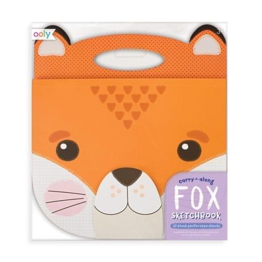 112688 OOLY Ritblock Carry Along Sketchbook Fox