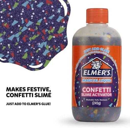 112691-1 Elmer's Confetti Aktivator 255 ml Till PVA Lim För Slime