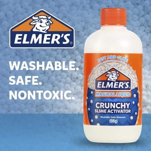 112692-3 Elmer's Crunchy Aktivator 259 ml Till PVA Lim För Slime